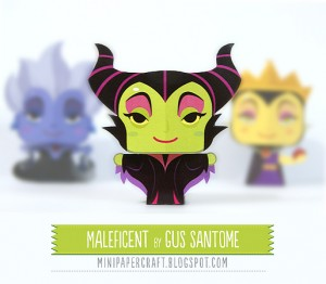 Maleficent_paper